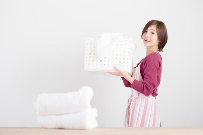 家事を楽しむ主婦