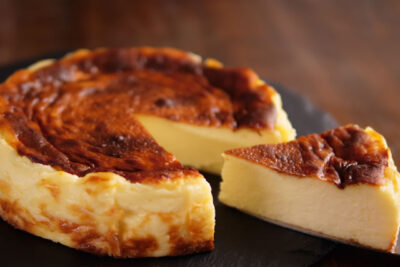 チーズケーキが生焼けイメージ
