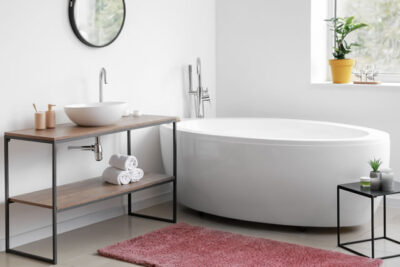 バスマットと浴槽