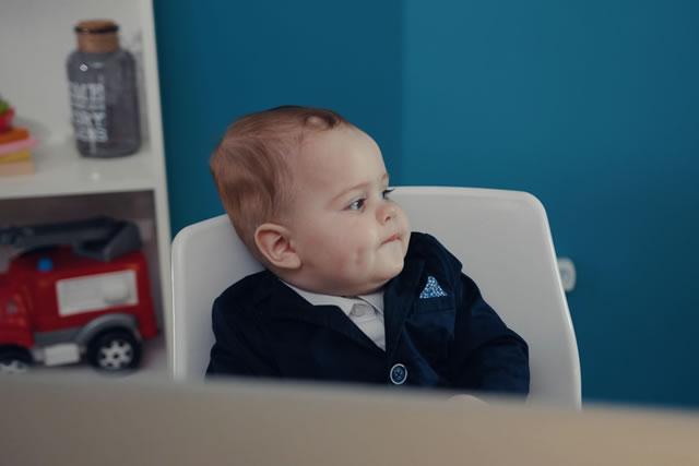 会社の子供イメージ