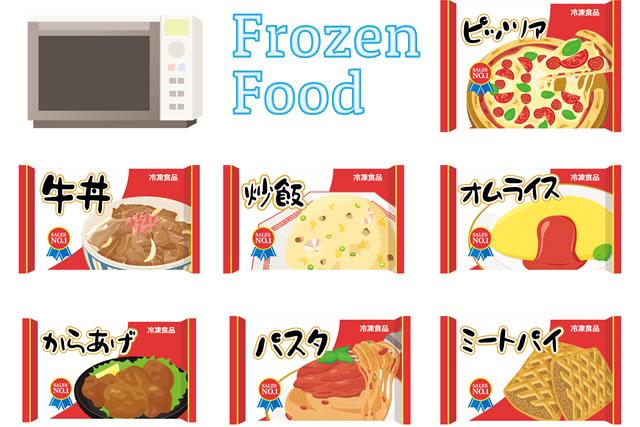 冷凍食品イラスト