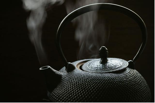 白湯を沸かす