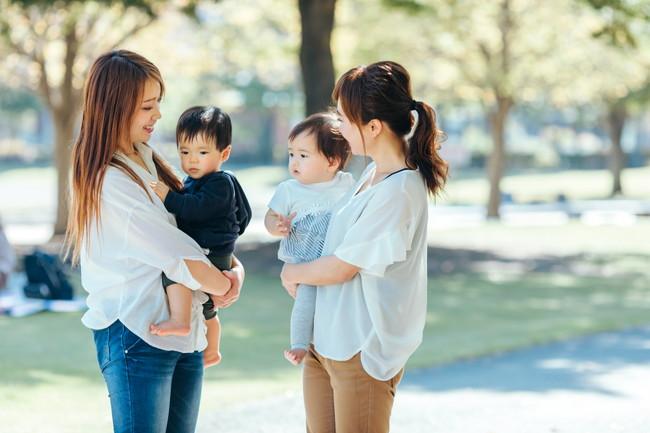 ママと赤ちゃんたち