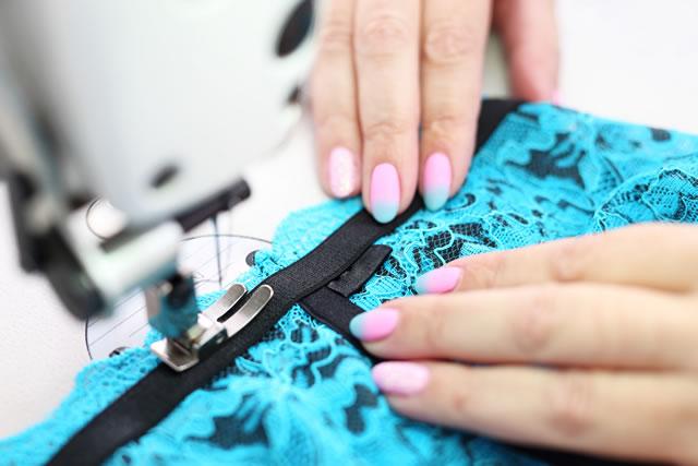 スカートの裁縫