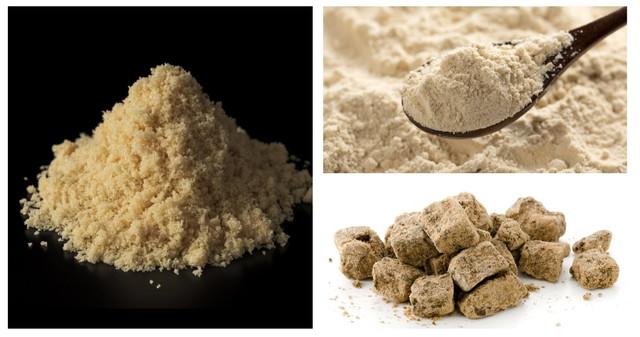 三種類の砂糖(色付き)