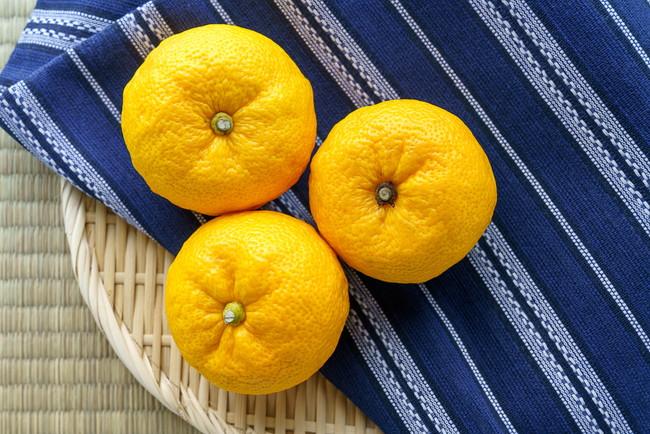 3つの柚子