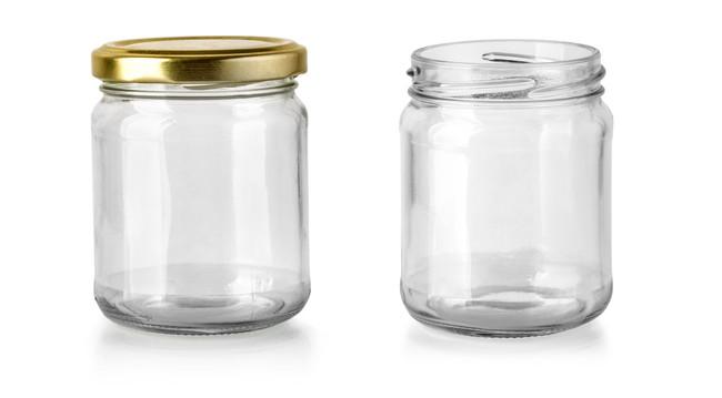 ガラスの瓶