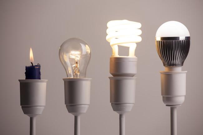 色々な種類の電球