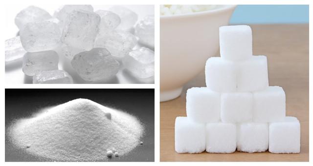 三種類の砂糖