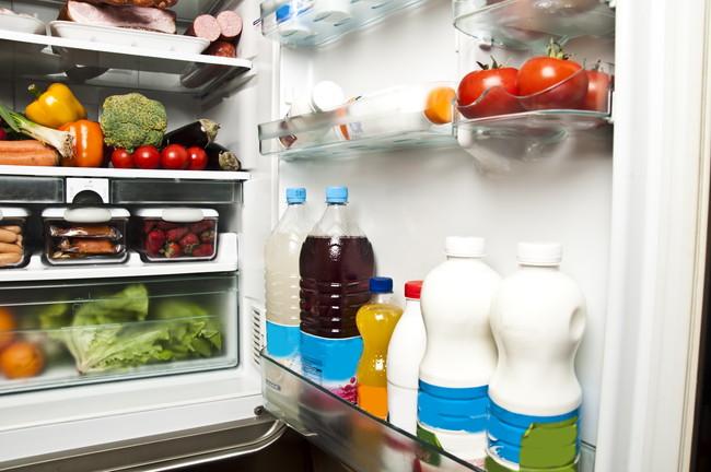 整理整頓した冷蔵庫