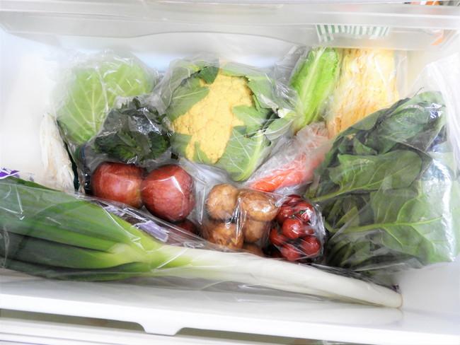 野菜室の野菜