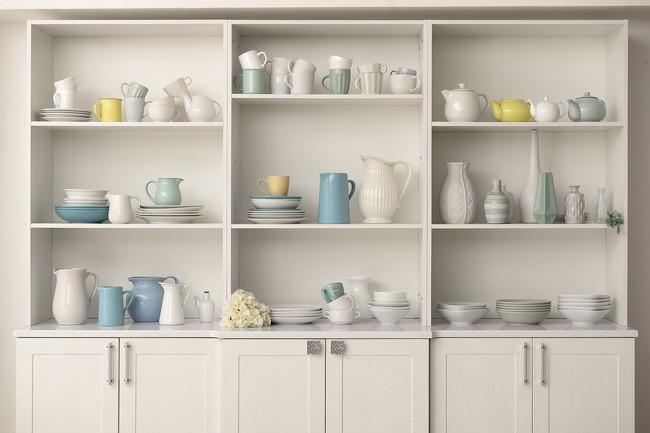 食器棚と食器
