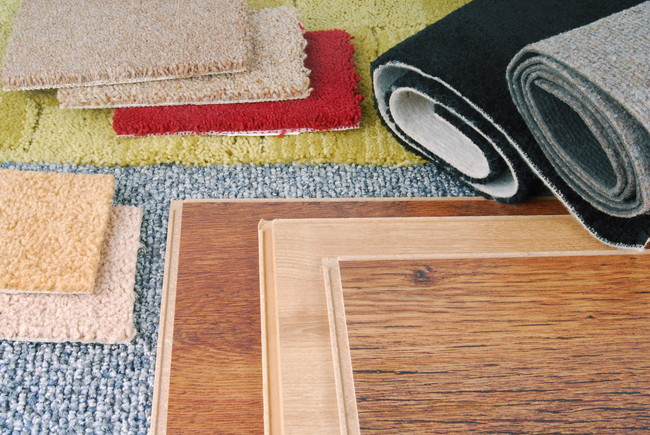 複数のカーペット