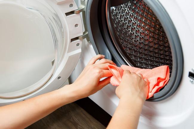 洗濯機の手入れ