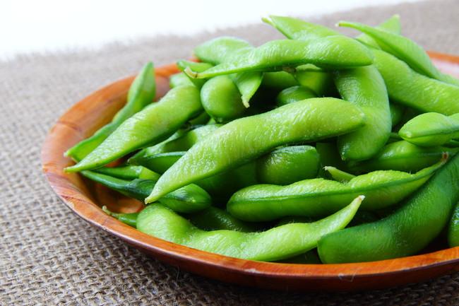 調理した枝豆