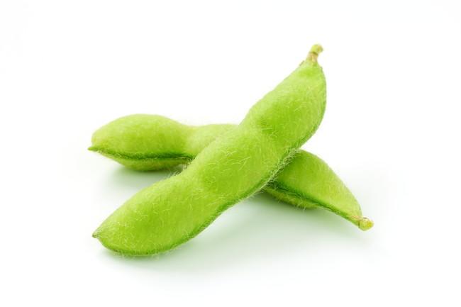 2つの枝豆