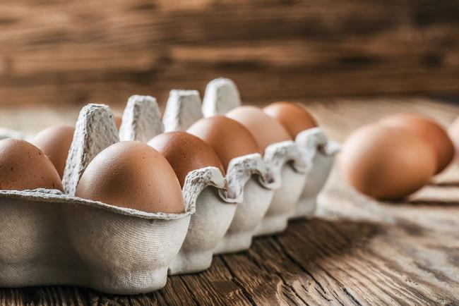 生卵のパック