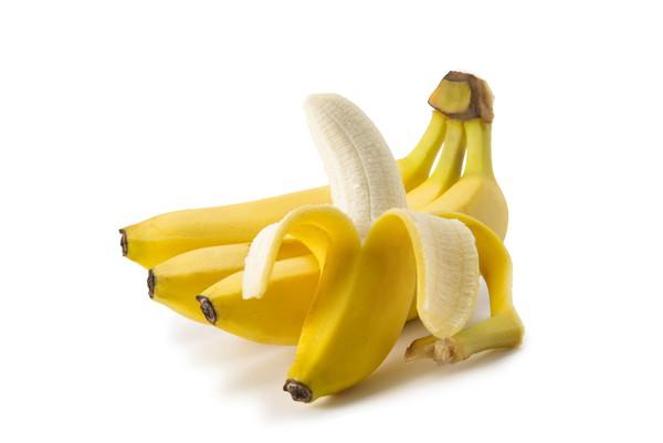 バナナ、白い背景