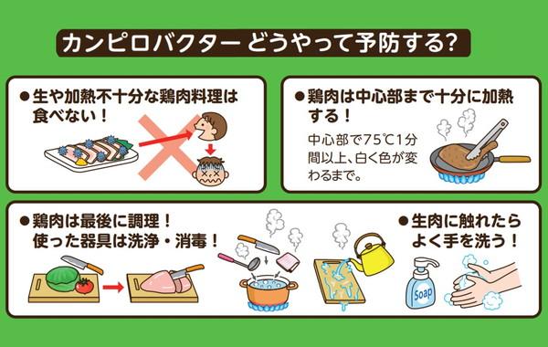 鶏の生食によるカンピロバクター食中毒にご注意!堺市