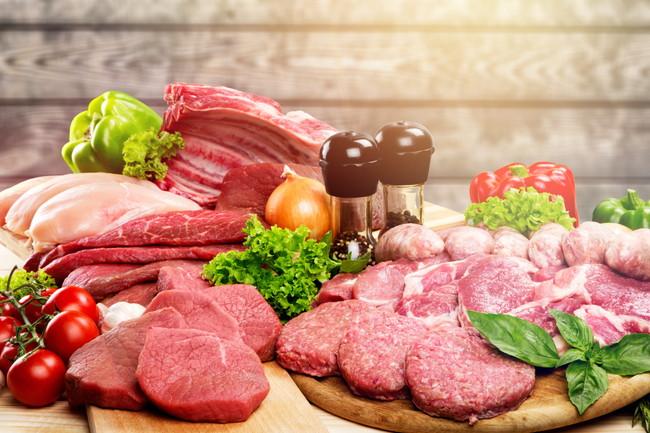 たくさんの肉たち
