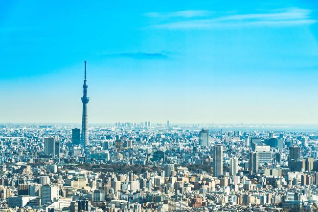 東京スカイツリーが見える景色