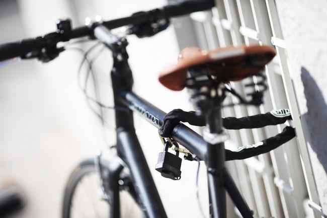 自転車のロック