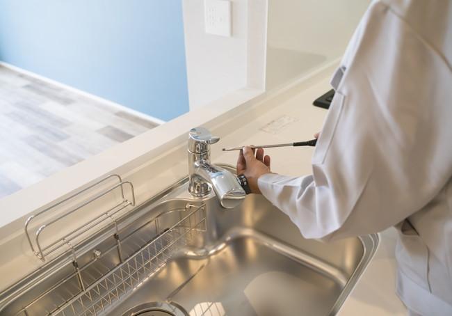 キッチンの蛇口の点検・修理