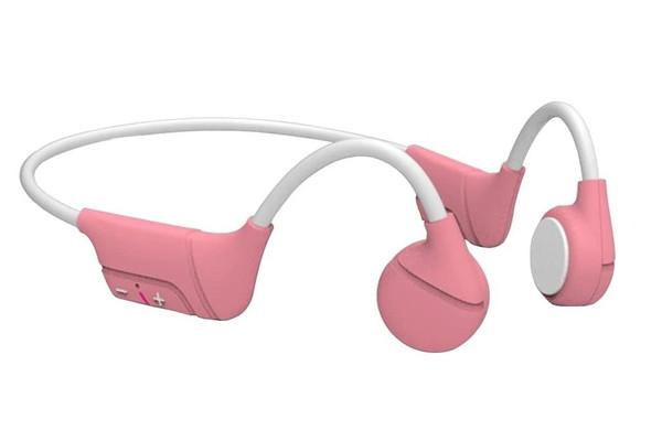 防汗ワイヤレススポーツヘッドフォンBluetooth5.0、骨伝導Bluetoothステレオイヤホン、軽量ワイヤレスランニングヘッドセットオープンイヤー