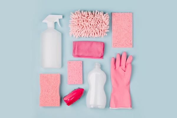 掃除道具、スポンジ・洗剤