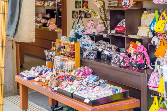 京都のお土産屋