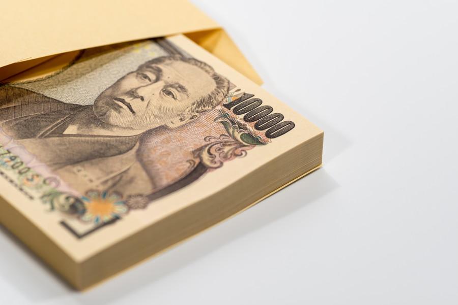 一万円札の束