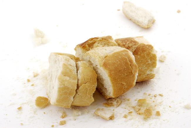 カリカリになったパン