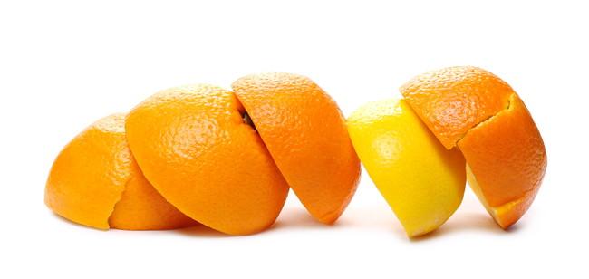 レモンやみかんの皮