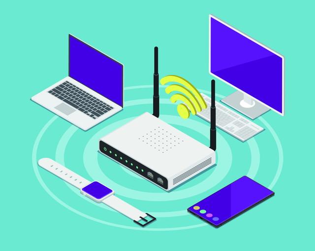 Wi-Fiに接続された機器