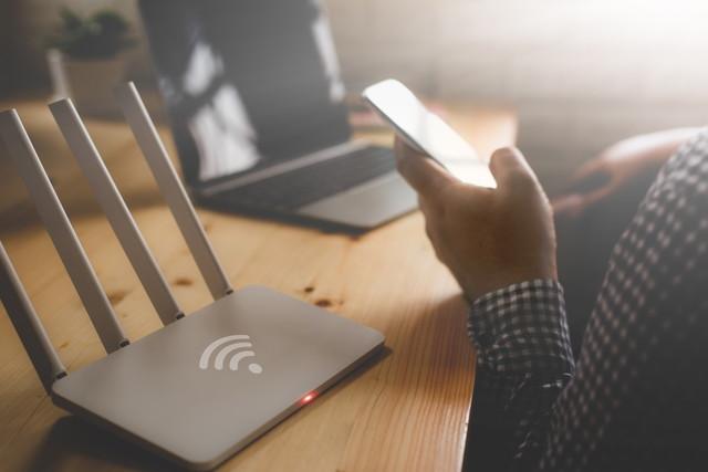 Wi-Fiを使ったスマホの操作