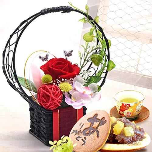 花とスイーツお菓子セット