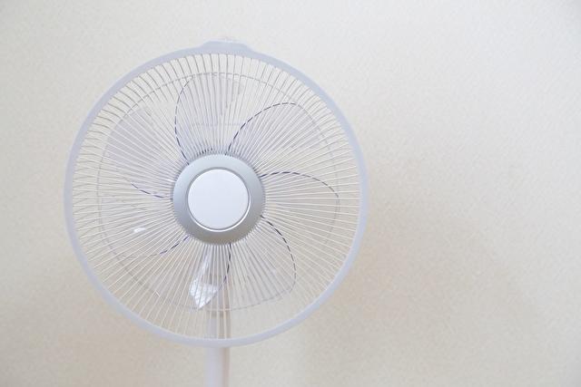 扇風機、夏の風物詩