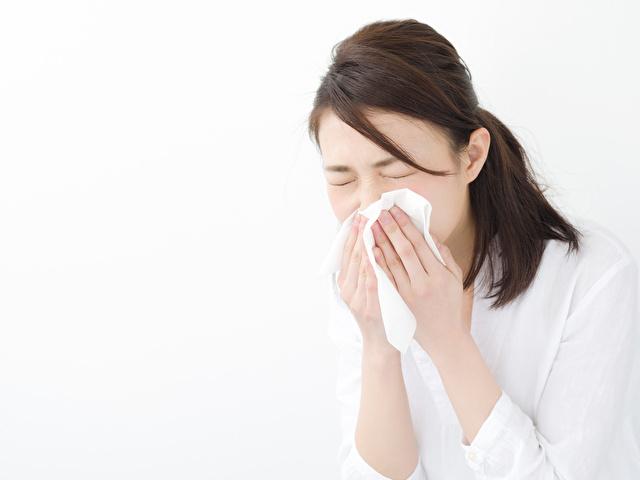 花粉症・若い女性