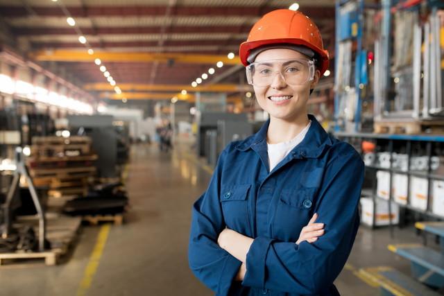 製造業の女性