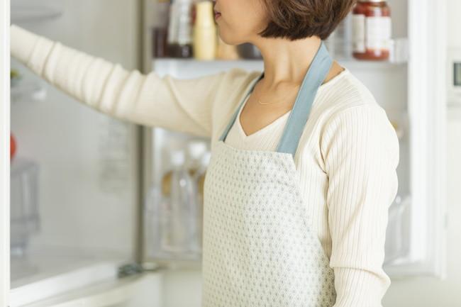 冷蔵庫と主婦