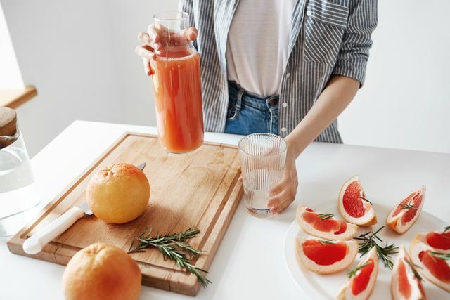 グレープフルーツ ジュース 効果