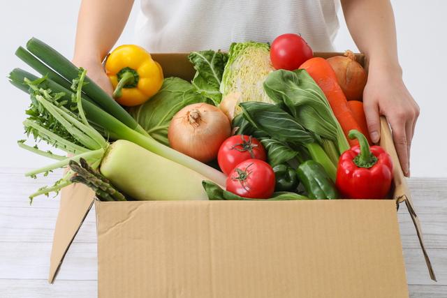野菜の仕送り