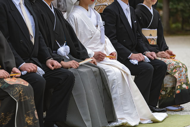 神前結婚式の風景