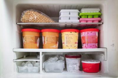 冷蔵庫のアイス