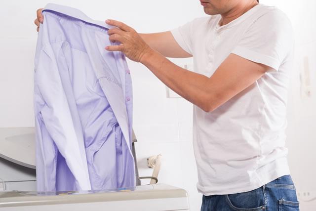 洗濯 裏返し