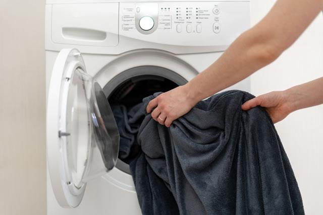 毛布 洗濯機