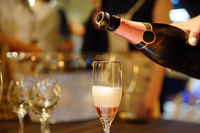 パーティーのイメージ・シャンパン