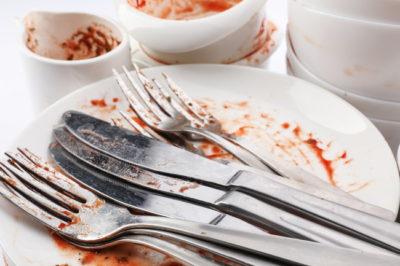 食器の汚れ別に対応する