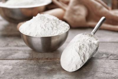 2種類の小麦粉