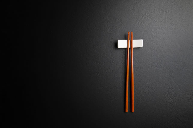 縦置きの箸